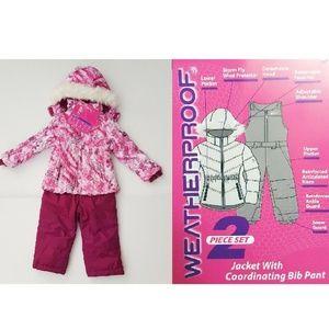 Weatherproof 2-Piece Set Hooded Jacket & Pants